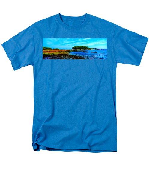 Men's T-Shirt  (Regular Fit) featuring the photograph Kennepunkport Vaughn Island  by Tom Jelen