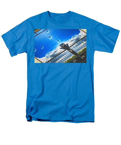 Letting Go Men's T-Shirt  (Regular Fit) by Wendy J St Christopher