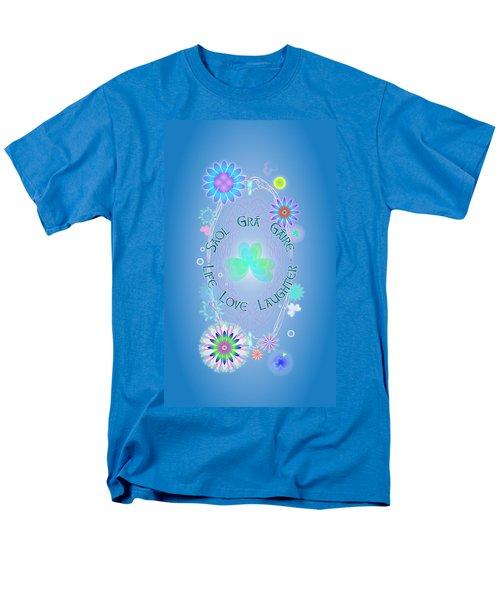 Life Love Laughter Men's T-Shirt  (Regular Fit) by Ireland Calling
