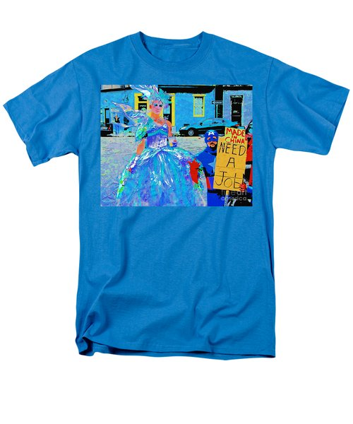 Mardi Gras New Orleans Men's T-Shirt  (Regular Fit) by Luana K Perez