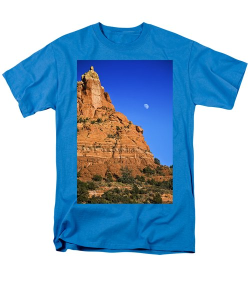 Moon Over Sedona Men's T-Shirt  (Regular Fit)