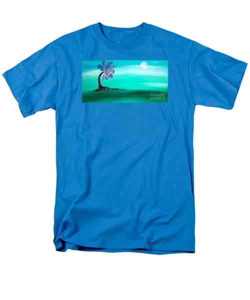 Moonlit Palm Men's T-Shirt  (Regular Fit) by Jacqueline Athmann