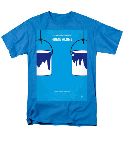 No427 My Home Alone Minimal Movie Poster Men's T-Shirt  (Regular Fit) by Chungkong Art