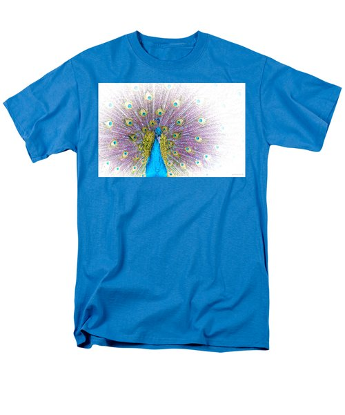 Peacock Men's T-Shirt  (Regular Fit)