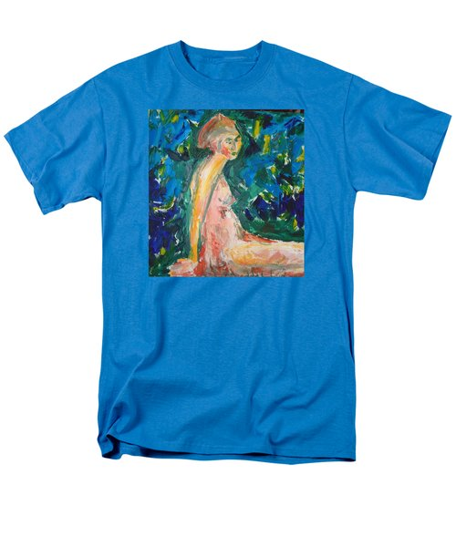 Men's T-Shirt  (Regular Fit) featuring the painting Penelope Silenced by Esther Newman-Cohen