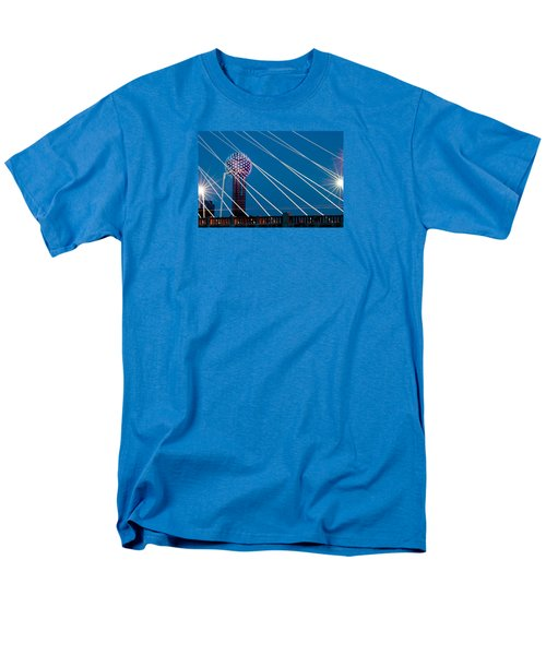 Reunion Tower Men's T-Shirt  (Regular Fit) by Darryl Dalton