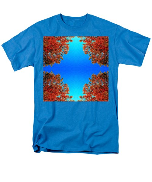 Men's T-Shirt  (Regular Fit) featuring the photograph Rust And Sky 1 - Abstract Art Photo by Marianne Dow