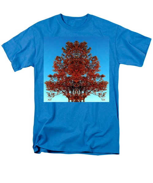Men's T-Shirt  (Regular Fit) featuring the photograph Rust And Sky 2 - Abstract Art Photo by Marianne Dow