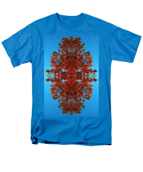 Men's T-Shirt  (Regular Fit) featuring the photograph Rust And Sky 4 - Abstract Art Photo by Marianne Dow
