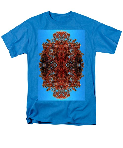 Men's T-Shirt  (Regular Fit) featuring the photograph Rust And Sky 5 - Abstract Art Photo by Marianne Dow