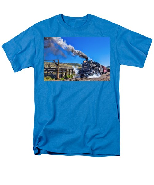 Steam Engine Relic Men's T-Shirt  (Regular Fit) by Steven Bateson