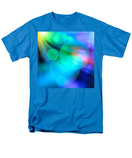 Men's T-Shirt  (Regular Fit) featuring the photograph Strangers In The Night by Dazzle Zazz