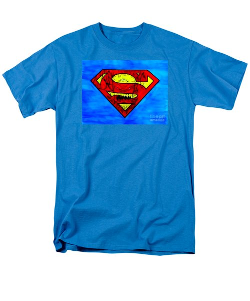 Superman And Doomsday R Y D Men's T-Shirt  (Regular Fit) by Justin Moore
