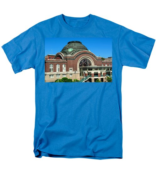 Tacoma Court House At Union Station Men's T-Shirt  (Regular Fit) by Tikvah's Hope