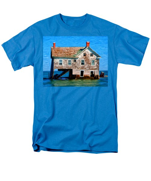 The Last House On Holland Island Men's T-Shirt  (Regular Fit) by Michael Pickett