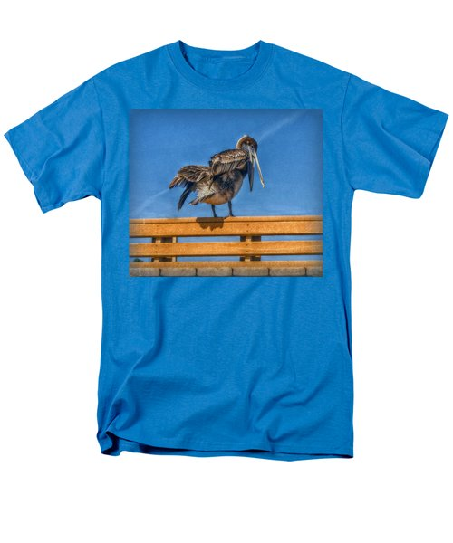 Men's T-Shirt  (Regular Fit) featuring the photograph The Pelican by Hanny Heim