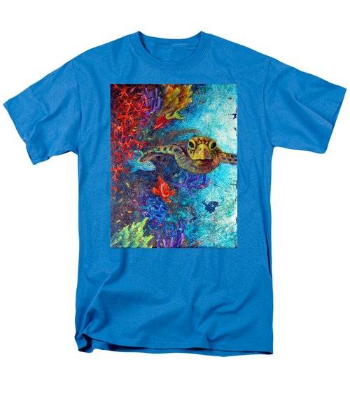 Turtle Wall 2 Men's T-Shirt  (Regular Fit) by Ashley Kujan
