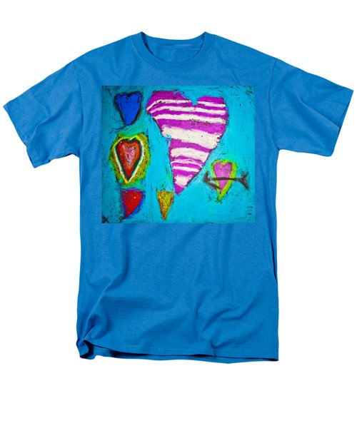 Men's T-Shirt  (Regular Fit) featuring the photograph Vibrant Love by Sara Frank
