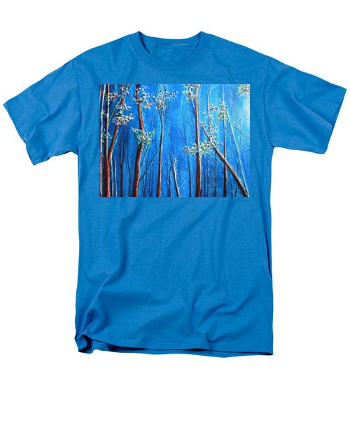 Men's T-Shirt  (Regular Fit) featuring the painting Waiting by Dan Whittemore