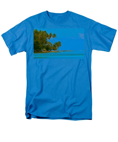 Men's T-Shirt  (Regular Fit) featuring the photograph Coconuts Anyone by Eric Tressler