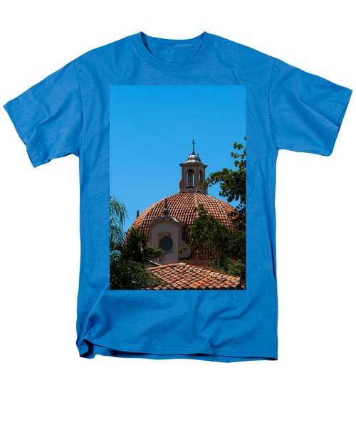 Men's T-Shirt  (Regular Fit) featuring the photograph Dome At Church Of The Little Flower by Ed Gleichman