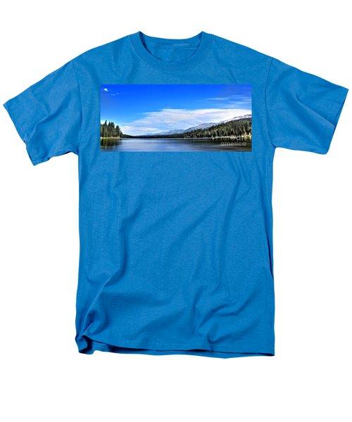 Men's T-Shirt  (Regular Fit) featuring the photograph Lake Alva by Janie Johnson