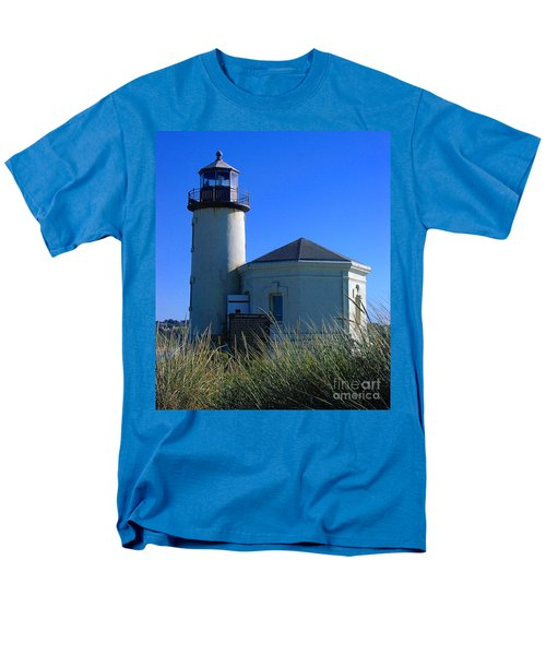 Men's T-Shirt  (Regular Fit) featuring the photograph Lighthouse by Rory Sagner