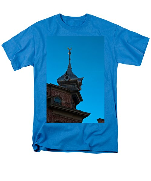 Men's T-Shirt  (Regular Fit) featuring the photograph Turret At Tampa Bay Hotel by Ed Gleichman