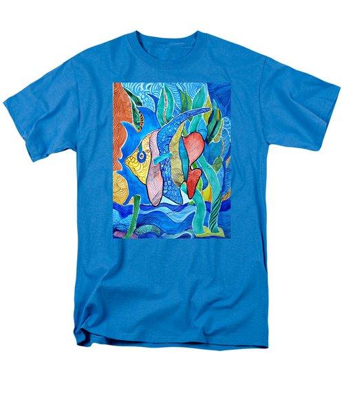 Under The Sea Men's T-Shirt  (Regular Fit) by Sandra Lira
