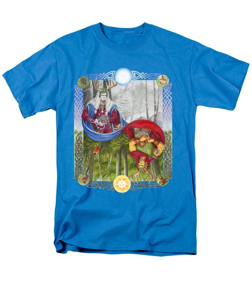 The Holly King And The Oak King Men's T-Shirt  (Regular Fit)