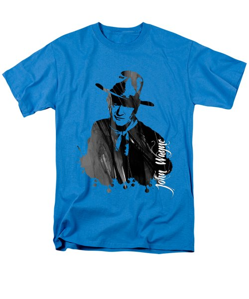 John Wayne Collection Men's T-Shirt  (Regular Fit) by Marvin Blaine
