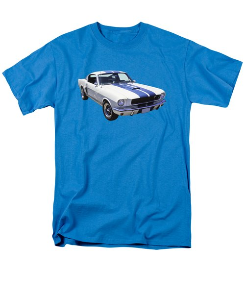 1965 Gt350 Mustang Muscle Car Men's T-Shirt  (Regular Fit) by Keith Webber Jr