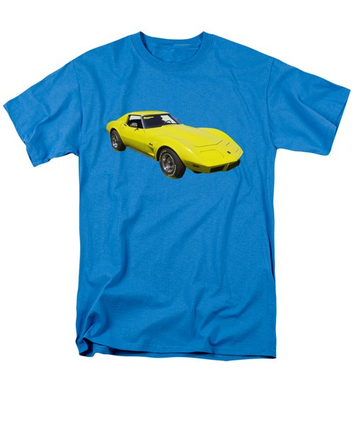 1975 Corvette Stingray Sportscar Men's T-Shirt  (Regular Fit) by Keith Webber Jr