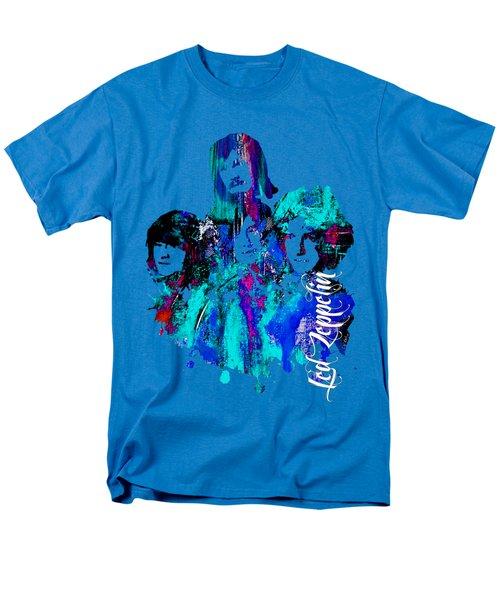 Led Zeppelin Collection Men's T-Shirt  (Regular Fit) by Marvin Blaine