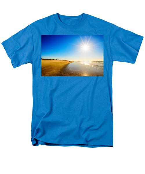 Men's T-Shirt  (Regular Fit) featuring the photograph 3 On The Beach  by John Harding