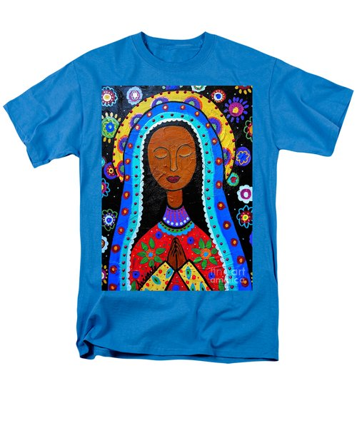 Our Lady Of Guadalupe Men's T-Shirt  (Regular Fit) by Pristine Cartera Turkus