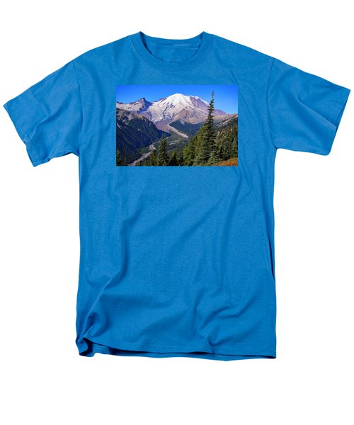Men's T-Shirt  (Regular Fit) featuring the photograph A Morning View by Lynn Hopwood