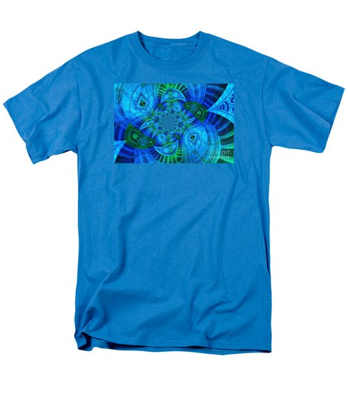 A Walk In The Gallery Men's T-Shirt  (Regular Fit) by Chad and Stacey Hall