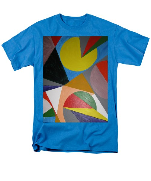 Accidental Pacman Men's T-Shirt  (Regular Fit) by Barbara Yearty