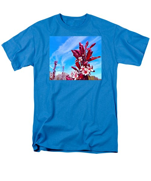 Men's T-Shirt  (Regular Fit) featuring the photograph Aglow With Beauty by Randy Rosenberger