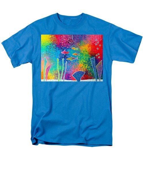 Aquarium Men's T-Shirt  (Regular Fit) by Jeremy Aiyadurai