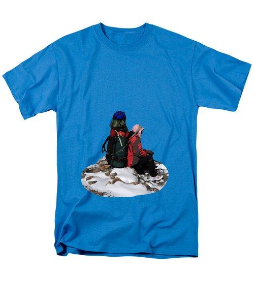 Himalayan Porter, Nepal Men's T-Shirt  (Regular Fit) by Aidan Moran