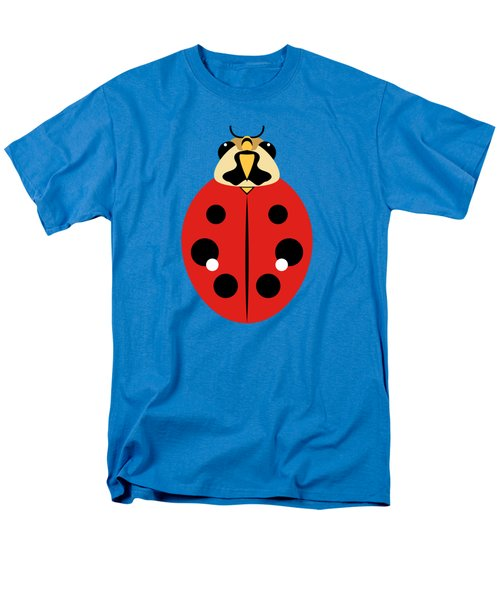 Ladybug Graphic Red Men's T-Shirt  (Regular Fit) by MM Anderson