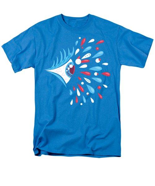 Psychedelic Eye Men's T-Shirt  (Regular Fit) by Boriana Giormova