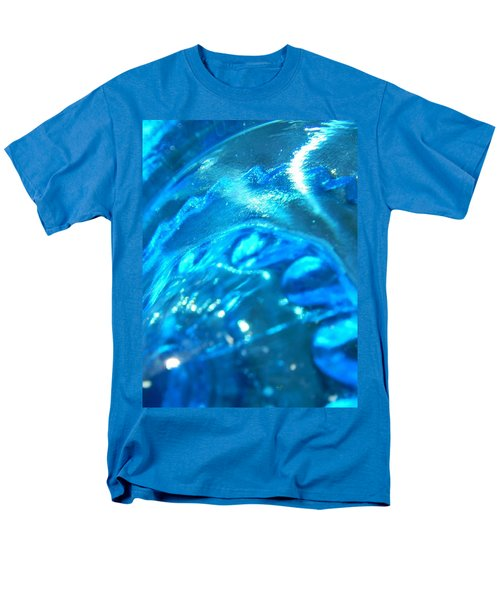 The Beauty Of Blue Glass Men's T-Shirt  (Regular Fit) by Samantha Thome