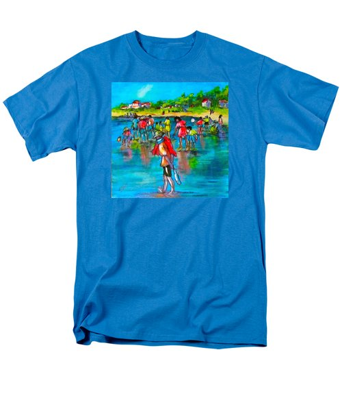 At The Beach Men's T-Shirt  (Regular Fit) by Barbara O'Toole