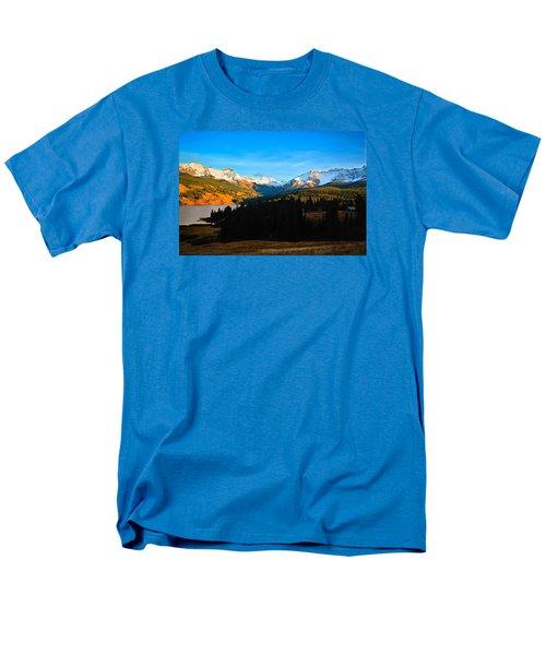 Autumn Drama Men's T-Shirt  (Regular Fit) by Laura Ragland