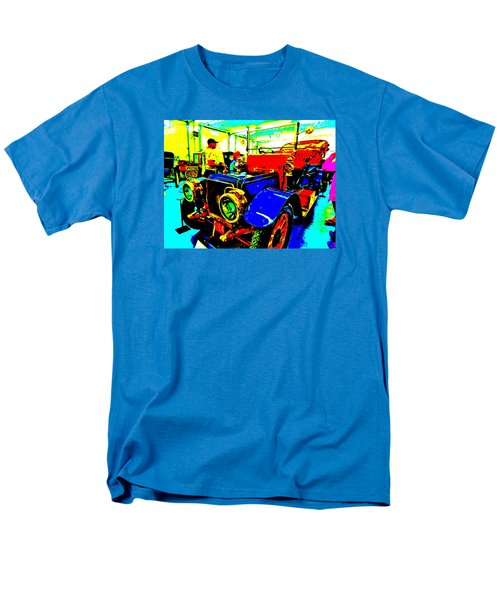 Bahre Car Show II 1 Men's T-Shirt  (Regular Fit) by George Ramos