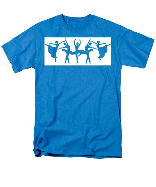 Ballerinas Dancing Silhouettes Men's T-Shirt  (Regular Fit) by Irina Sztukowski