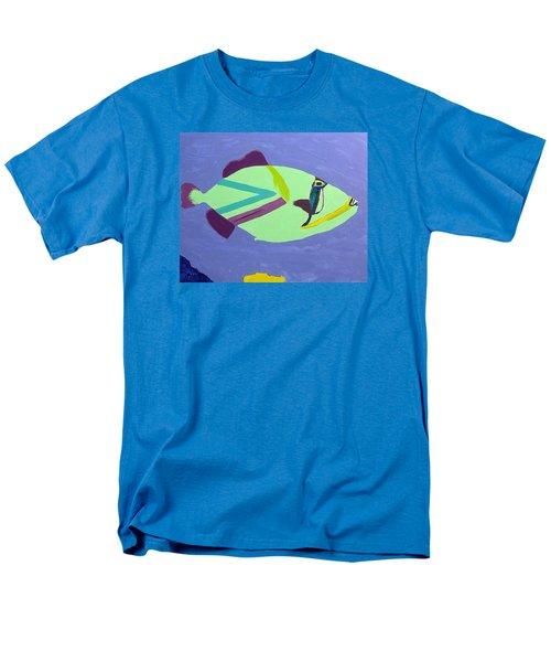 Big Fish In A Small Pond Men's T-Shirt  (Regular Fit) by Karen Nicholson